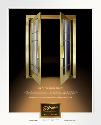 Ellison Ad - Open Door