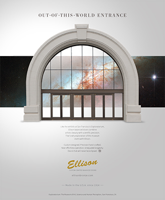 Ellison Ad - Out-Of-This-World Entrance
