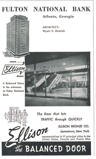 Ellison Old Ad - Fulton National Bank
