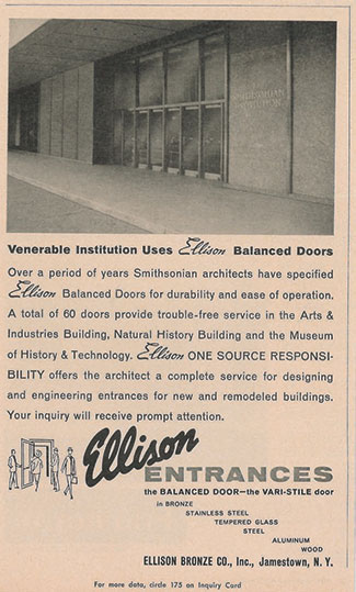 Ellison Old Ad - Smithsonian