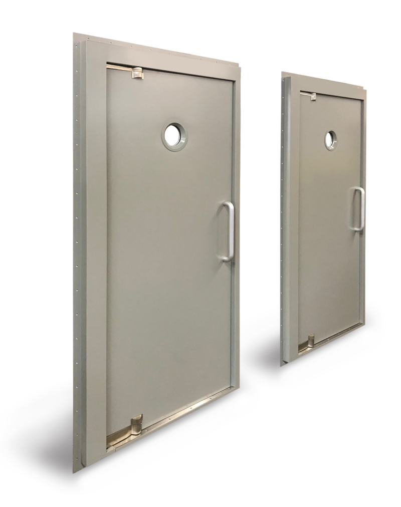 Ellison Bronze navy doors