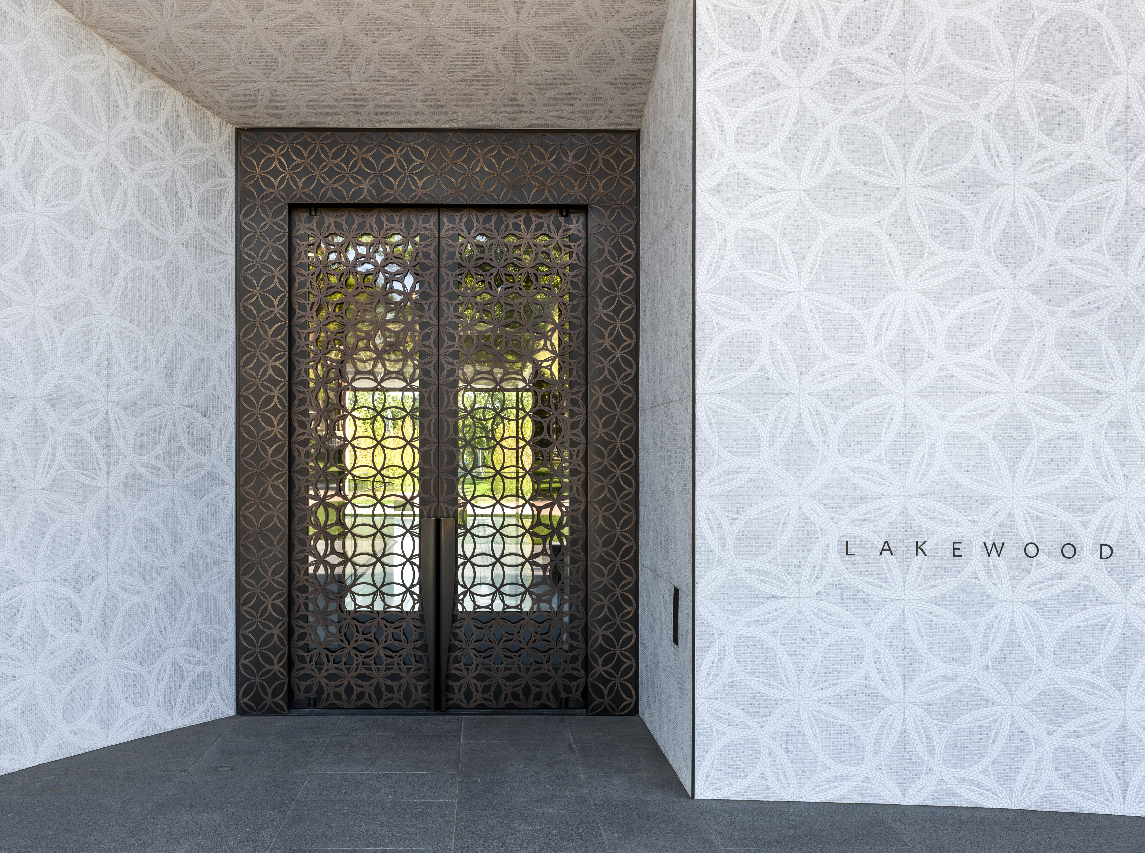 New Mausoleum at Lakewood Cemetery Features Seven Balanced Doors from Ellison Bronze & Press - New Mausoleum at Lakewood Cemetery Features Seven Balanced ...