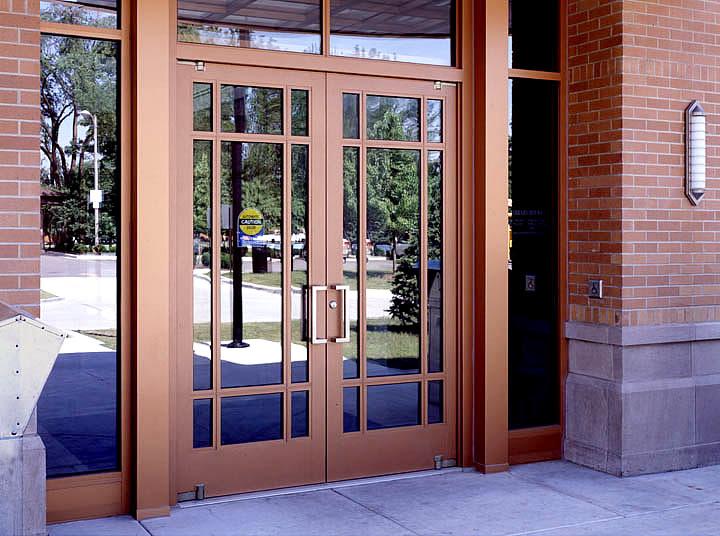 Aluminum Exterior Doors : Design options ellison bronze custom crafted balanced