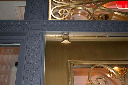 Balanced Door Entry at 1110 Park Avenue