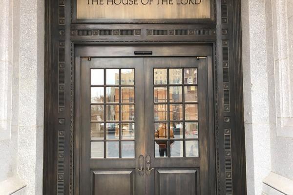 LDS Temple in Philadelphia & Door Gallery | Ellison Bronze - Custom Crafted Balanced Doors