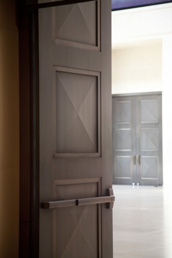 Ellison Bronze Doors in George W. Bush Library & News | Ellison Bronze - Custom Crafted Balanced Doors Pezcame.Com