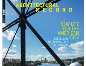 'Architect' Magazine Cover Story Features Ellison Doors at Lakewood Mausoleum