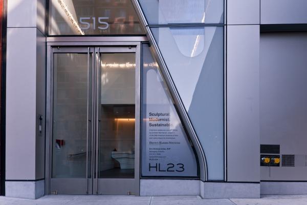 New York City's High Line 23 Features Entrance Doors from Ellison Bronze