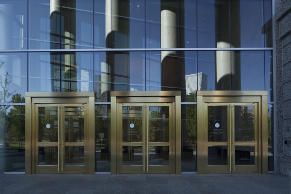 Ellison Supplies Custom Entry Doors for Ralph L. Carr Colorado Judicial Center