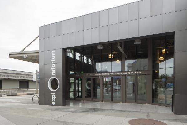 Ellison Provides Custom Balanced Doors for San Francisco's Exploratorium
